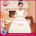 2014 fashional y hermoso vestido de niña de las flores