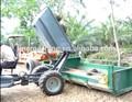2t de óleo de palma agrícolas basculante tractor