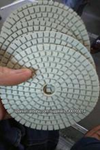 2013 Venta caliente! diamante de la resina seca / húmeda almohadilla de pulido de mármol de granito pulido de hormigón