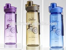 nuevo producto de alta calidad vacía botella de plástico taza de agua con tapa 750ml