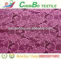 africano del cordón del bordado de tela para el vestido