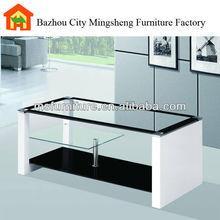 mobiliariodesala base de mdf parte superior de vidrio mesa final