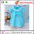 Baby girl boutique de ropa, nudo de mariposa de punto de encaje de la princesa vestido baratos para las niñas