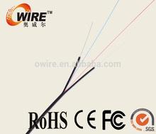 4 núcleo de fibra óptica de cable owire desde la fábrica en shenzhen