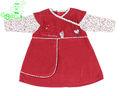 bebê roupas meninas definir o nome da marca fabricante de vestuário OEM na China