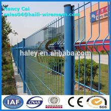Valla 3d/flexión triangular de malla de alambre de la cerca con iso9001; sgs( fabricante)