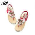 2014 nuevo estilo de tacón alto sandalias de cuña, hermosas sandalias de tacón alto