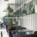 el restaurante de metal decorativos cortinas