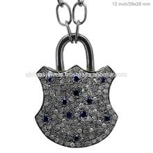 azul zafiro joyería de la piedra preciosa, mayorista de diamantes 925 de piedras preciosas joyas de plata