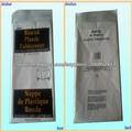 mantel redondo blanco impermeable y resistente al aceite (MOQ: 10000PCS)