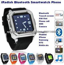 Teléfono elegante androide i900 del reloj de Bluetooth con la llamada de la ayuda Iphone de la guía telefónica