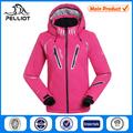 rosa mujeres abrigo de esquí