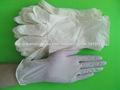guante de látex blanco para la industria