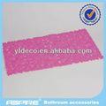 De seguridad anti- deslizamiento suave de silicona alfombra de baño