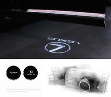láser led coche luz de la puerta el logotipo de proyector de luz de la lámpara de sombra fantasma para lexus es/gx/ls/lx/rx