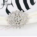 Bofetada- hasta de lujo y los anillos de boda nombre grabado anillos de plata