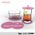 venta caliente de la moda de silicona en forma de copa cubiertas