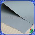400D FDY poliéster telas impermeables para ropa para la lluvia con impermeable ignífugo PU recubierto de color