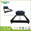 2014 el último madera cama doble de diseño de muebles de dormitorio