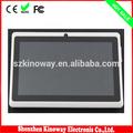 pulgadas 7 allwinner a23 de doble núcleo android tablet pc con ranura para tarjeta tf