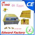 El más reciente 2014 automático mini escala de pollos para asar huevosparaincubar( 48 huevos) para la venta ew-48