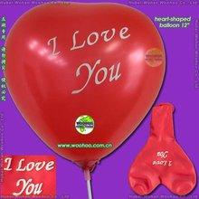 globos de latex con forma de corazón