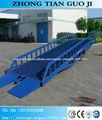 recipiente móvel rampa de caminhão rampa / rampa de carga hidráulica