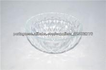 venda quente atacado| gravado tigela de vidro transparente tigela de vidro frutas