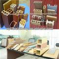 Pe compuesto plástico de madera de la máquina/wpc pe de la máquina