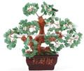 G021- de jade de árbol, cristal de color púrpura de árbol, de cristal de oro del árbol de dinero,la suerte del árbol de dinero