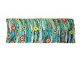 Seda 100% Bufanda modal con lazo estilo colorido y tinte de impresión digital