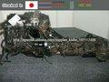 Exportación de motor usado de japón TOYOTA 1KZ-TE Chequeado la calidad por JRS (Estándar Reutilización Japonés ) y PAS777