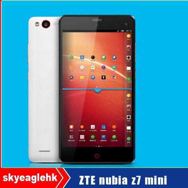 el más reciente 2014 mart original teléfono zte de nubia z7 mini en alibaba
