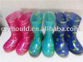 Los niños de moda las botas de lluvia, botas wellington, los niños zapatos para la lluvia