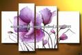 hechos a mano la pintura al óleo de la flor para mayor