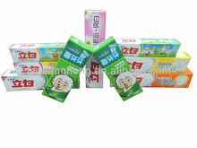 venta caliente de la familia utiliza papel de pasta de dientes de impresión cuadro GB327