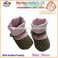 de tacto suave de bebé calcetines de suela suave zapatos de bebé calcetines
