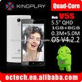 Precio barato 5.5 Inch 3G teléfonos celulares V5S