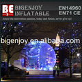 Inflable Luz Bola de nieve por la fiesta de Navidad