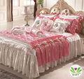 de lujo elegante colchas de impresión reactiva cama cubierta de ropa de cama de diseños oy10001k venta al por mayor