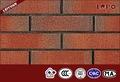exterior de terracota rojo de la pared baldosas de ladrillo