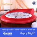 6811# muebles de oro de alibaba caliente venta de diseño de la cama redonda de ikea