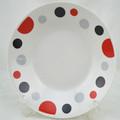 Promocionais de cerâmica prato, logotipo personalizado pratosdecerâmica pratos, corelle jantar placas