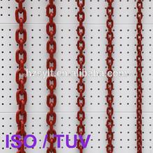 10x30mm g80 de elevación de la cadena de carga