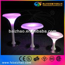 Led mesa de cóctel/led tabla de la barra/de plástico tabla de la barra