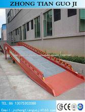 8 toneladas rampa de carga de camiones ISO CE ZTDCQY8-0.9
