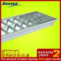 2*36w grille de plafond luminaire fluorescent