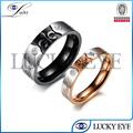 2014 nuevo diseño de acero inoxidable anillo de boda al por mayor