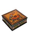 joyas caja de regalo de la india pintado a mano de madera caja de joyería