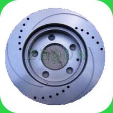 Con ventilación de cerámica del disco de freno del rotor para mercedes- benz